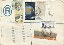 1975 South Africa registered cover sent from Norwood Johanesburg