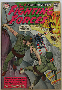 Our Fighting Forces #85 (Jul 1964, DC), VFN condition