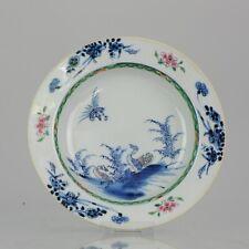 Antique Yongzheng/Qianlong Rose Imari Plate with Flowers & Duck Chinese ...