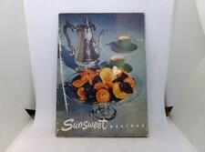 Vintage 1950 Cookbook Sunset Recipes (California Prune & Apricot Growers Assoc)