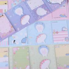 Cute Happy Whale 6 Folding Memo Pad Sticky Note Memo Notepad Bookmark Stationery
