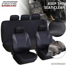 Universal Size Head Rest Car Seat Covers Set For Car Auto Interior Accessorie