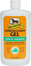 Absorbine Veterinary Liniment Gel 12 oz - free shipping!!!