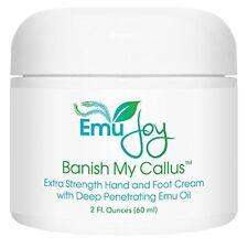 Emu Joy Banish My Callus Extra Strength Hand and Foot Cream for Cracked Heels