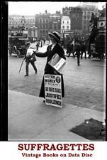 Frauenrechtlerinnen suffragists Ringen UK Damen Stimmen Wahlrecht eBooks auf Daten-CD