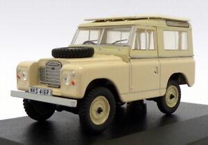Oxford Diecast 1/43 Scale 43LR3S001 - Land Rover Series III SWB - Limestone