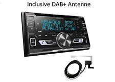 Kenwood DPX-7100DAB incl. DAB+ Antenne 2-DIN Autoradio DAB+ BT/CD KFZ PKW