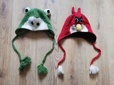 Niños Lana & Polar Angry Birds & Rana sombreros de un tamaño
