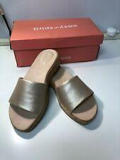 Easy Spirit Womens Muscari Open Toe Sandals Gold NWB