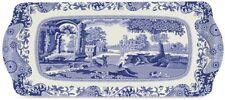 SPODE BLUE ITALIAN MELAMINE SANDWICH TRAY (BY PIMPERNEL) NEW