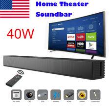 New listing Powerful Tv Home Theater Soundbar Bluetooth Sound Bar Speaker System w/Subwoofer