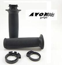 "Avon Superbike Custom Contour Motorcycle Rubber Grips 7/8"" Handlebar SCOOTER"