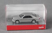 HERPA 038782 H0 1:87 Mercedes-Benz E 320 Coupe silbermetallic NEU, viele Fotos!