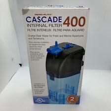 Penn Plax Cascade 400 Internal Filter 20 Gallons 110 GPH New Open Box
