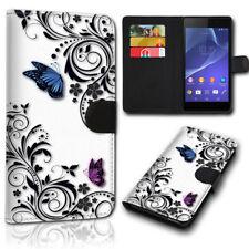Design Book Handy Tasche Hülle Etui Schutz Cover Motiv SVH-770 für Huawei Y6 II