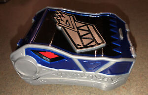 Blue Power Rangers Dino Charge Morpher Charger Holder Belt Clip Holds 3 Chargers