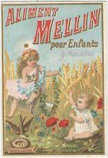 1880s Belgian Chromo Aliment Mellin Pour Enfants et Malades Trade Card
