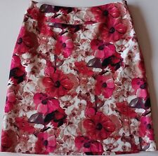 EUC East 5th Floral A-Line Lined Skirt Size 10P