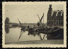 Ostende-1940-Flandern-Westflandern-Atlantik-luftwaffe-Hafen-port-