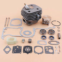 Cylinder Crank Bearing Carb Repair Kit For 266 266SE 162 Husqvarna Chainsaw 52mm