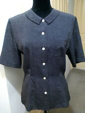 Sportscraft vintage polyester polka dot shirt, size 10