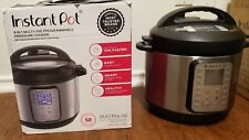INSTANT POT DUO Plus 6 Qt  9-in-1 Multi-Use Programmable Pressure Slow Cooker
