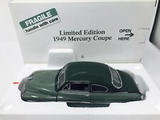 DANBURY MINT 1949 MERCURY CLUB COUPE - Limited Edition In Box, Green