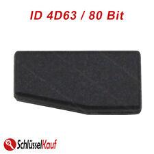 Transponder Chip 4D63 4D63/80 Bit Code Silca Uncoded Fits Mazda Ford