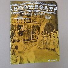 song album SHOWBOAT, Hammerstein/Kern