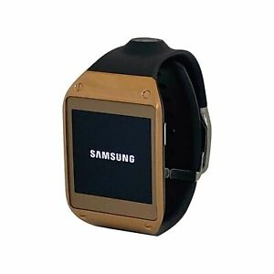 Samsung Galaxy Gear Smart Watch Andriod Tizen Bluetooth Black Gold V700 Wearable