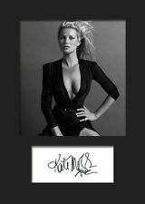 KATE MOSS #1 A5 Signed Mounted Photo Print - FREE DELIVERY