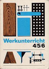 Werkunterricht Klasse 4 - 6,DDR-Lehrbuch, Volk und Wissen 1971