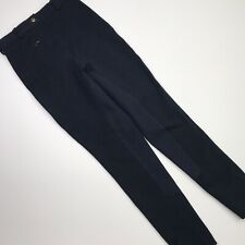 Ladies Dover Saddlery Riding Sport Full Seat Breeches Size 26Rx27 Navy Blue