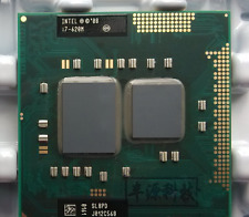 Intel Core i7-620M SLBPD Dual Core 2.66GHz 4M Mobile Laptop CPU Socket PGA988
