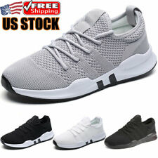 Men's Sports Casual Running Shoes Trainers Breathable Athletic Tennis Sneakers