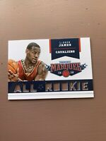 2012-13 Panini Marquee All-Rookie Team Laser Cut #11 LeBron James 🔥 SP