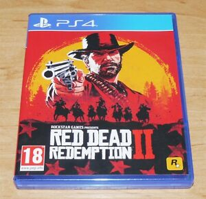 Red dead redemption II 2 Game for Sony PS4 Playstation 4