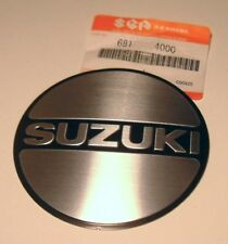 NOS Suzuki Right ENGINE EMBLEM Badge Decal gs550 gs850 gs650 gs450 gs