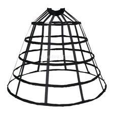 Cosplay Triangular Crinoline Hoop Cage Skirt Pannier Bustle Petticoat Underskirt