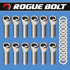 Sbc Intake Manifold Bolts 38 X 1 14 Stainless Steel Small Block Chevy 350 Tpi
