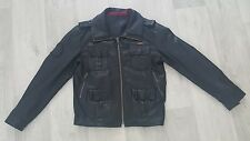 Superdry Leather Jacket GREAT CONDITION - Large