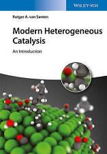 van Santen-Modern Heterogeneous Catalysis BOOK NEW