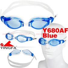 2016 NEW YINGFA Y680AF-5 BLUE SWIMMING GOGGLES GLASSES ANTI-FOG [FREE FLAT SHIP]