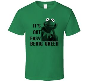Kermit THe Frog It's not easy being green T Shirt