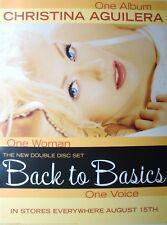 "Christina Aguilera ""Back To Basics"" U.S. Promo Poster - Xtina Laying Back"