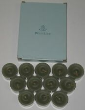 Partylite Tealight Candles Boxed Set Lot 12 Small Green Ginger Apple