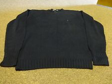 VTG POLO RALPH LAUREN SWEATER SZ XL MEN COTTON SPORTSMAN 90S SPORT NAVY