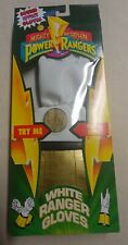 Vintage Power Rangers Gloves! Tommy The White Ranger! 1994 w/mint, unopened box!