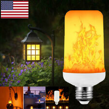 E27 LED Flicker Flame Light Bulb Simulated Burning Fire Effect Decoration Lamp