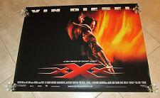 XXX movie poster TRIPLE X movie poster VIN DIESEL poster - original 1 sided
